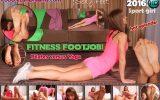 fitness footjob